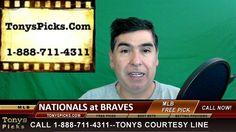 Washington Nationals vs. Atlanta Braves Pick Prediction MLB Baseball Odd...