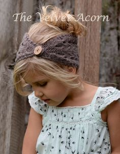 KNITTING PATTERN-The Veronya Warmer Toddler by Thevelvetacorn