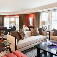 Living Room Red Design, Pictures, Remodel, Decor and Ideas - page 16