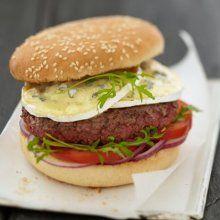 Hamburger au Bresse Bleu