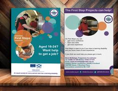 Enable Works Aberdeen  Flyer Or Leaflet Design For Enable Works