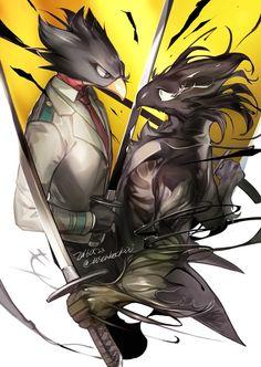 Boku no Hero Academia    Fumikage Tokoyami