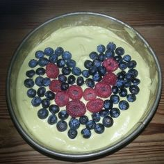 """""""Sumptuous #raw cheeseless mango #cheesecake topped with raspberries and blueberries lined up in a #ValentinesDay heart shape  Crust made via food processor from - 2 cups of pecans - 1/4 cup of raw mulberries - generous dash of agave syrup  Filling blended from - 2 mangoes - 1 cup of cashews - 4 tbsp of coconut oil - 1 tsp of vanilla extract - 1 tsp of cinnamon  #rawgasm #rawfood #rawfoodtreats #raw treat #letsgetrawganised #rawdiet #rawsome #veganfood #veganfoodporn #whatveganseat #veganism…"""