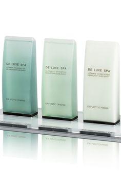 De Luxe Ginger hotel bath line by Ex Voto Paris