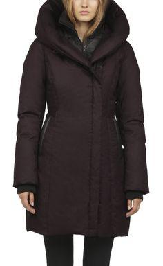 Soia Kyo Camyl f5 down coat