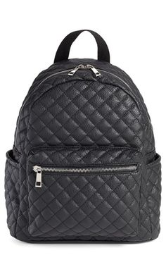 Amici+Accessories+Vegan+Leather+Quilted+Backpack+available+at+#Nordstrom