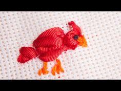 ANIMALES BORDADOS 3 / POLLITO Y CARACOL - YouTube