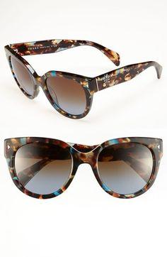 Prada 54mm Cat Eye Sunglasses | Nordstrom