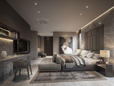 Modern Luxury Bedroom, Master Bedroom Interior, Luxury Bedroom Design, Room Design Bedroom, Modern Master Bedroom, Luxurious Bedrooms, Home Decor Bedroom, Home Room Design, Luxury Homes Interior