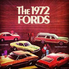 Old Car Brochure  Go Go    Brochures Cars And Ford