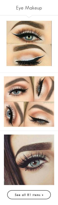 """Eye Makeup"" by firestarqueen ❤ liked on Polyvore featuring beauty products, makeup, face makeup, eye makeup, eyeshadow, eyes, beauty, accessories, palette eyeshadow and cheek makeup"