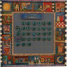 Sticks Large Perpetual Calendar by Sarah Grant