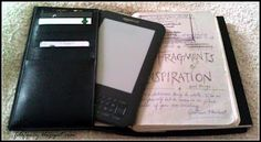 Mixing up good old fashioned journals and technology with the #filofax flex and #kindle ereader...