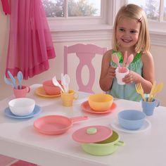 KidKraft Kid Kraft 27-piece Pastel Cookware Set