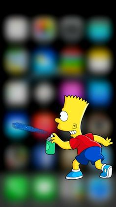#simpson #homero #wallpapersimpson #lisa #bart Iphone, Wallpaper S, Bart Simpson, Lisa, Bath, Fictional Characters, Wall Papers, Drawings, The Simpsons
