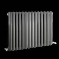 Hudson Reed SALVIA Retro designer radiator 635mm x 863mm - 1496Watt - Antraciet