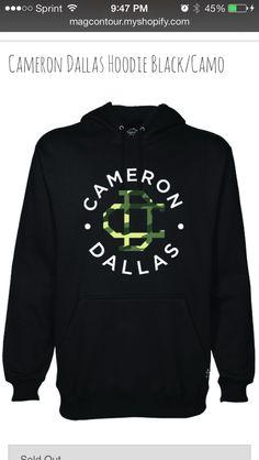 $40 Cameron Dallas Magcon hoodie