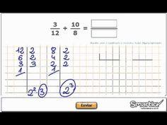 Tutorial sumar y restar fracciones 4