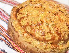 Najlepse slavske dekoracij!e! Uputstva i ideje: #slava #slavski kolac #slavska pogaca Bread Recipes, Peanut Butter, Appetizers, Food And Drink, Cooking, Cake, Desserts, Knitting, Easter