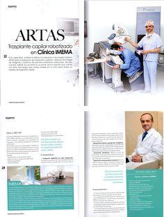 Expertos en Medicina Estética ha publicado un completo artículo sobre Imema, el doctor Eduardo López Bran y ARTAS.  http://www.imema.es/