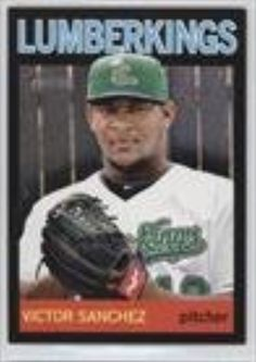 Victor Sanchez #6/96 (Baseball Card) 2013 Topps Heritage Minor League Edition Black #9 -- Awesome products selected by Anna Churchill