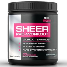 How Beta Alanine gives you EXPLOSIVE MUSCULAR STRENGTH AND POWER OUTPUT SHEER STRENGTH PRE WORKOUT - #1 Best Preworkout Supplement Powder - Cotton Candy - No Jitters/Crash - Science-Backed Formula For The Best, Most Satisfying Workouts Of Your Life - 330g (30 Servings)