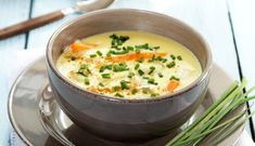 Try this traditional Norwegian fish soup on a cold autumn day. Choose your favorite fish, either haddock, cod or wolffish, they are all suitable in the soup. Fish Recipes, Seafood Recipes, Vegetarian Recipes, Cooking Recipes, Norwegian Food, Fish Soup, Seafood Soup, Slow Cooker Soup, I Love Food