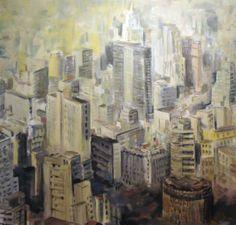 Luz da manhã (2013) óleo sobre tela (150 x 160 cm)