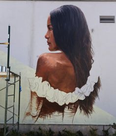 WIM Enjoyed and Liked on instagram from streetartnews: Third day for Sean Yoro aka The Hula in Hawaii for @powwowworldwide #streetart #streetartnews @the_hula by streetartnews