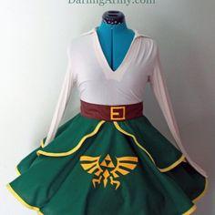 Hyrule Honey Cosplay Lolita Skirt