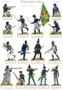 Gorini Art - Soldatini di Carta Small Soldiers, Toy Soldiers, Military Art, Military History, Bataille De Waterloo, Waterloo 1815, Military Drawings, Paper Toys, Paper Puppets