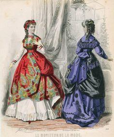 Le Moniteur de la Mode 1868