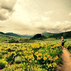On a scale of 1-breathtaking.... Nice work, @Melissa Squires Bailey #rei1440project #crestedbutte #hiking #wildflowers #loveit
