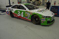 No. 34 Farm Rich Ford ready for racing tomorrow! :) Go David Ragan!