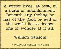 Quotable - William Sansom