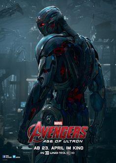 Avengers - Age Of Ultron - Marvel - Ultron - kulturmaterial