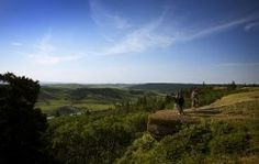 The highest point between the Rocky Mountains and Labrador, Newfoundland is in #Saskatchewan! The Cypress Hills rise 600 metres from the surrounding prairie in south west Saskatchwan and are covered in lodgepole pine forests and rugged mountain-like terrain.