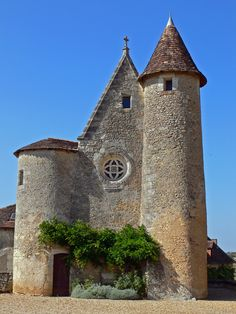 https://flic.kr/p/3bE8MH | Château de Montréal (Dordogne, France) | Chapelle d'époque renaissance www.best-of-perigord.tm.fr/sites/chateaux/montreal/franca...
