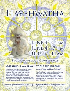 Star Knowledge Conference - 3 workshops - Your Story, Telos, The Mountain - At Stewart Mineral Springs - June 4-5, 2012