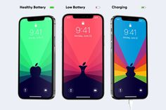 These iPhone wallpapers automatically change to reflect your phone's battery level!