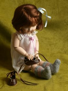 Bleuette doll and photo by Gillian Simpson