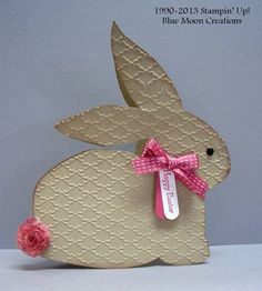Easter Bunny by Bluemoon - Cards and Paper Crafts at Splitcoaststampers