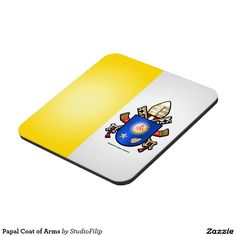 Papal Coat of Arms Drink Coaster