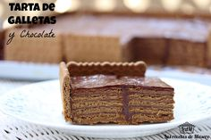 Las recetas de Masero.: Tarta de galletas y chocolate