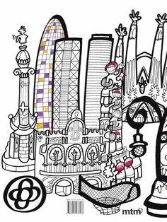 Berta Anaya. BCN Colors es más que un libro: es un libro de arte, de turismo, de historia y de entretenimiento para todas las edades y públicos.