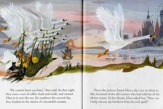 Gordon Laite's Illustrations for 'The Wild Swans' - Book Artists and Their Illustrations - Quora