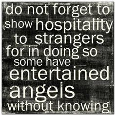 "Briana and I were leaving for church one day and a gal comes up to us asking for a ride to ""The Giovanni Apartments."" We don't know what she means. She tells us that she has been walking from Enterprise Blvd. to where she is now (and she seemingly came out of nowhere). She certainly didn't smell like she had been walking.  We asked her name when she got in the car. Her name?  Angel.  We brought her where she asked to go (Suffolk Manner) and let her out in the front of the complex."