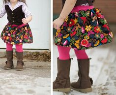~Ruffles And Stuff~: Bubble Skirt From Tights Scraps
