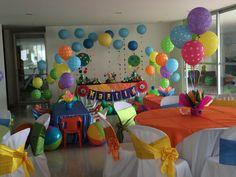 Henry Hugglemonster party decoration