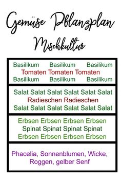 Create your vegetable garden cultivation plan. Note the crop rotation, mixed cro… - Gärtnern Types Of Vegetables, Planting Vegetables, Growing Vegetables, Garden Care, Diy Garden, Rotation Des Cultures, Pea Trellis, Ornamental Kale, Vegetable Garden Planning